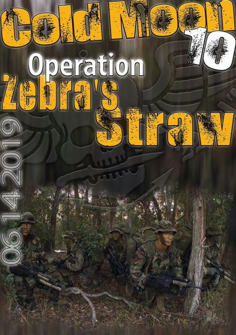 Operation Zebra's Straw - Cold Moon 2019